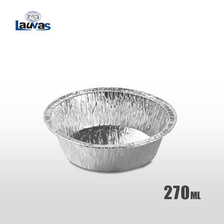 圓形5寸鋁箔餐盤 270ml