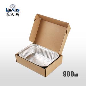 矩形195鋁箔套盒 900ml