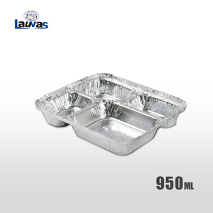 多格大4格款鋁箔餐盒 950ml