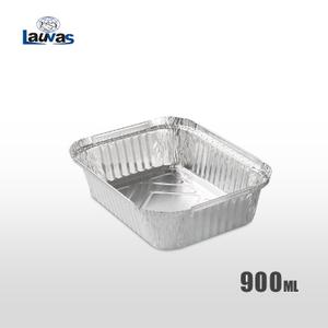 矩形195深款鋁箔餐盒 900ml
