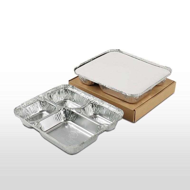 多格大4格鋁箔套盒 950ml