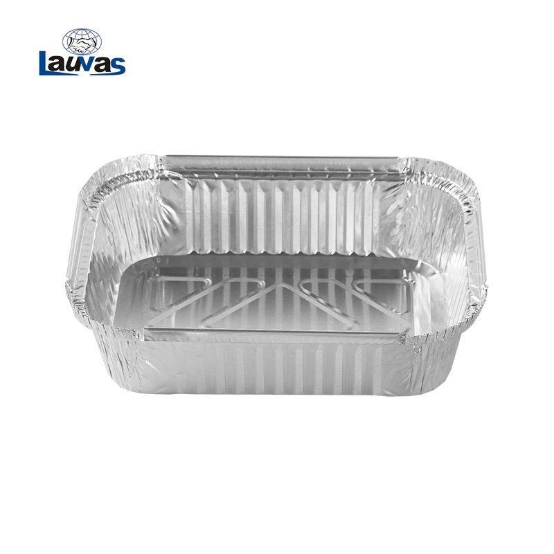 矩形195淺款鋁箔餐盒 600ml