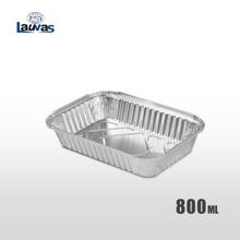 矩形211款铝箔餐盒 800ml